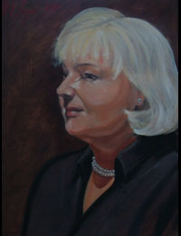 The Artist's Mother 2011 oil on canvas